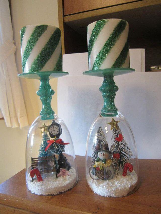 visit the dollar store for everything you will need viaideadesigncasa - Dollar Store Christmas Crafts