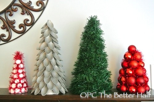 dollar store christmas trees - 99 Cent Store Christmas Decorations