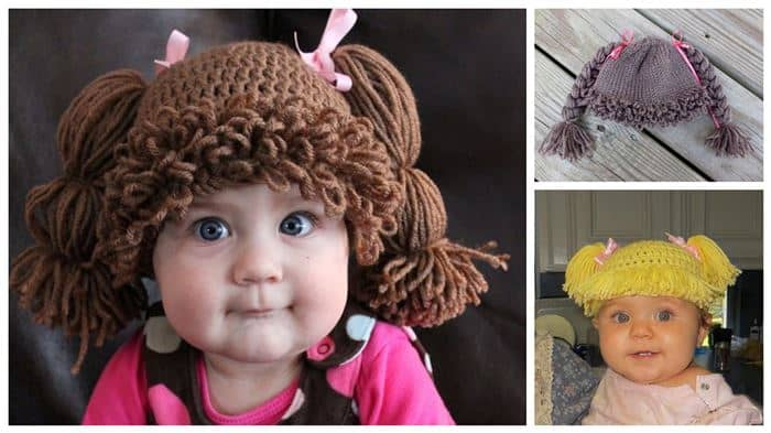 The Must Have Adorable Diy Cabbage Patch Inspired Hat For Your