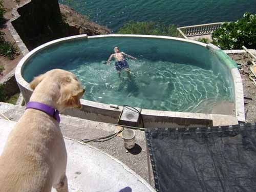 10 brilliantly awesome diy backyard pool ideas awesomejelly above ground pool turned in ground pool solutioingenieria Image collections