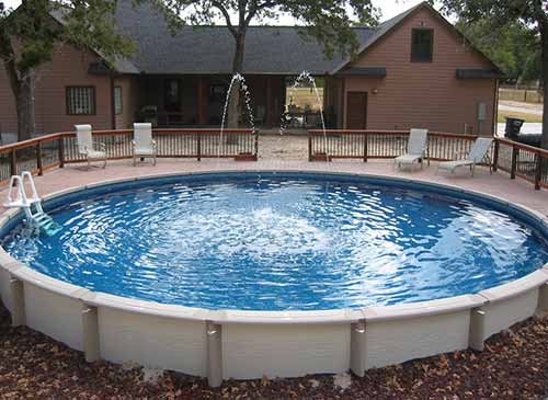 Hay Bale Swimming Pool Outdoor