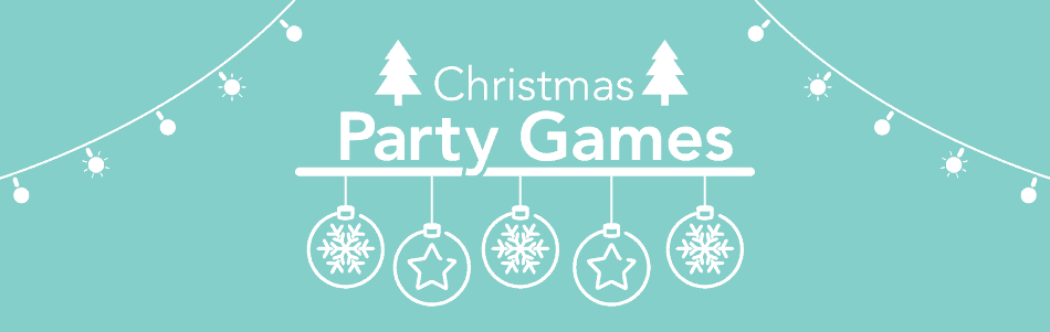christmas party games header - Christmas Decoration Games