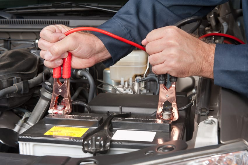Proper sequence to hook up jumper cables