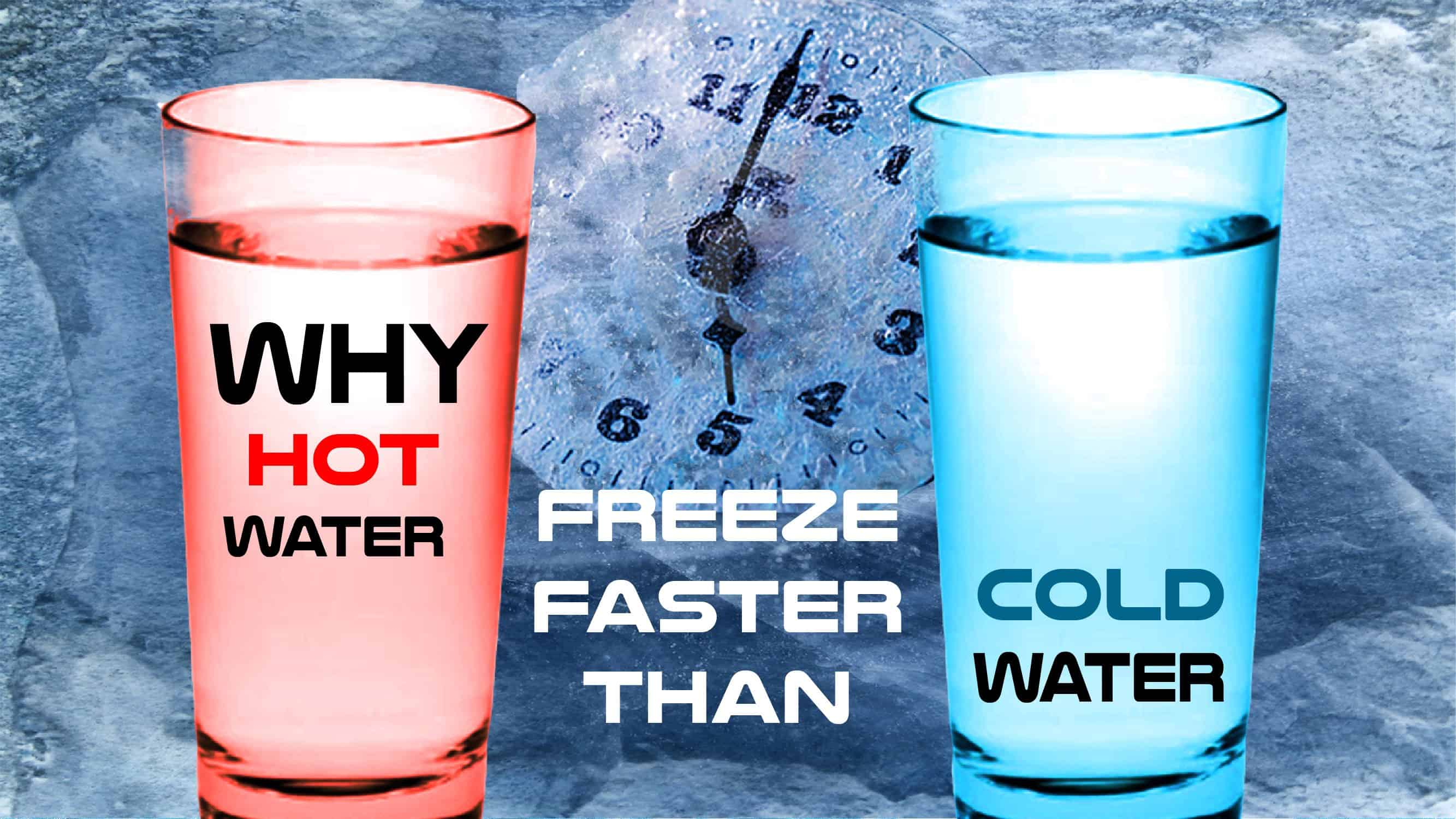 This Is Why Hot Water Freezes Faster Than Cold Water • AwesomeJelly.com