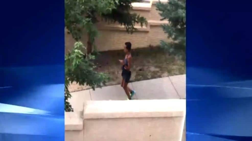Woman Poops On Sidewalk