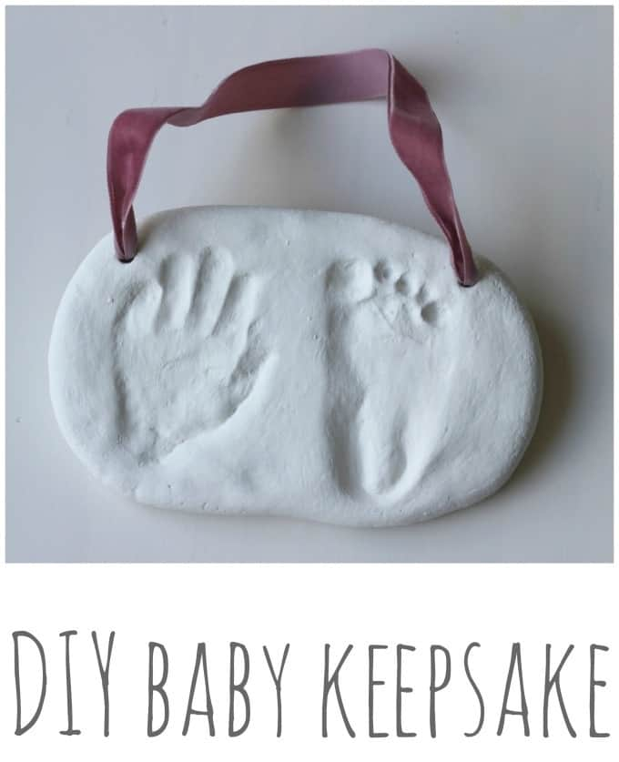 Easy Diy Baby Hand And Foot Prints From Salt Dough