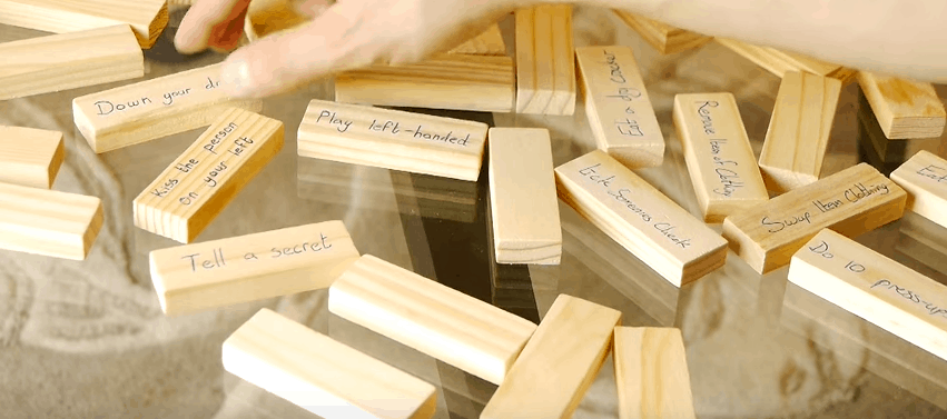 Truth Or Dare Jenga Is The Perfect Game For Any Party
