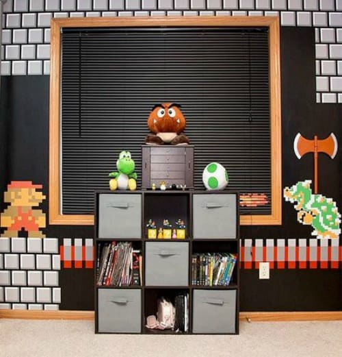 Home Library Design Ideas You Must See: 21 Super Awesome Video Game Room Ideas You Must See