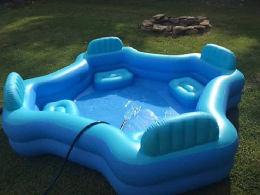 This 30 Four Seat Family Lounge Pool From Walmart Will