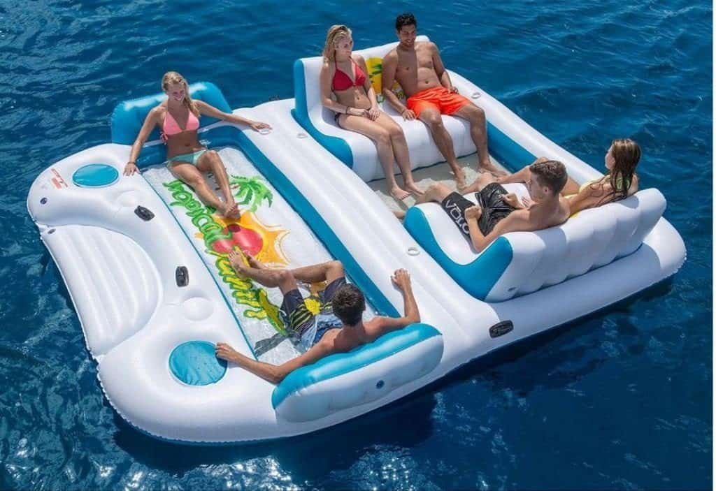 The Top 18 Inflatable Floating Islands Reviewed Float Your Way To