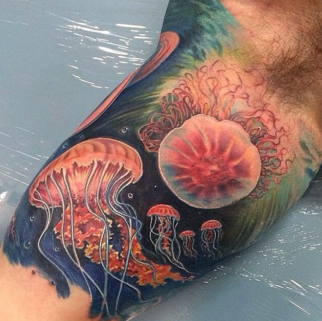 Jellyfish Tattoo Ideas Meaning Awesomejelly Com
