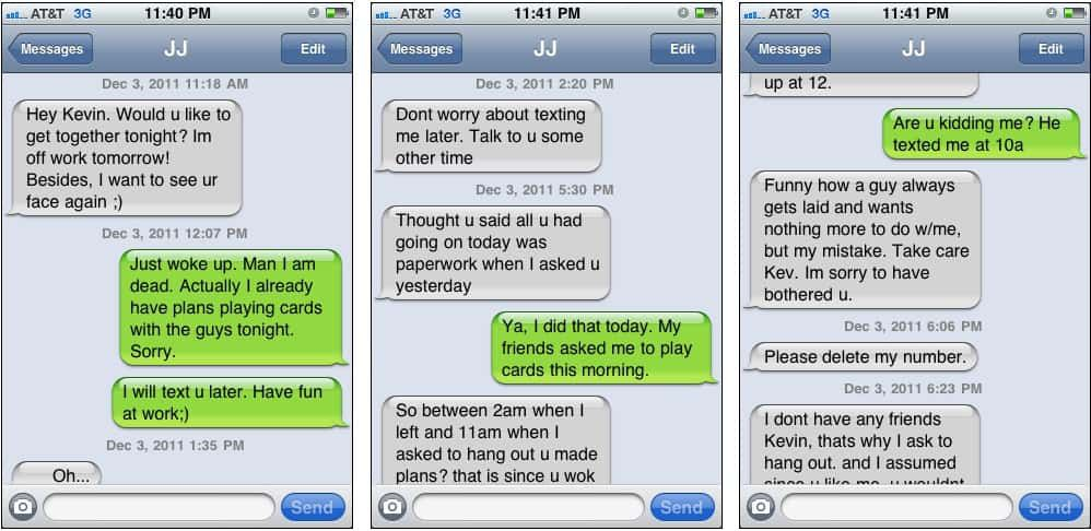 This Is What Crazy Looks Like Via Text Messaging
