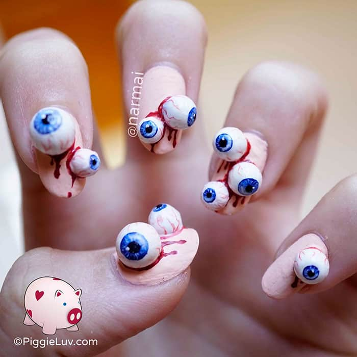 15 Creepy And Cool Nail Art Ideas Perfect For Halloween ...