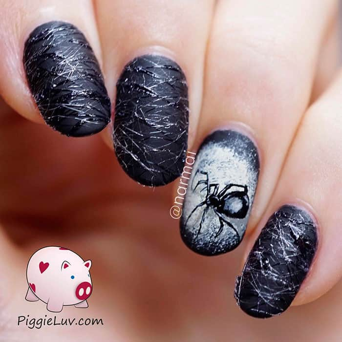 15 Creepy And Cool Nail Art Ideas Perfect For Halloween