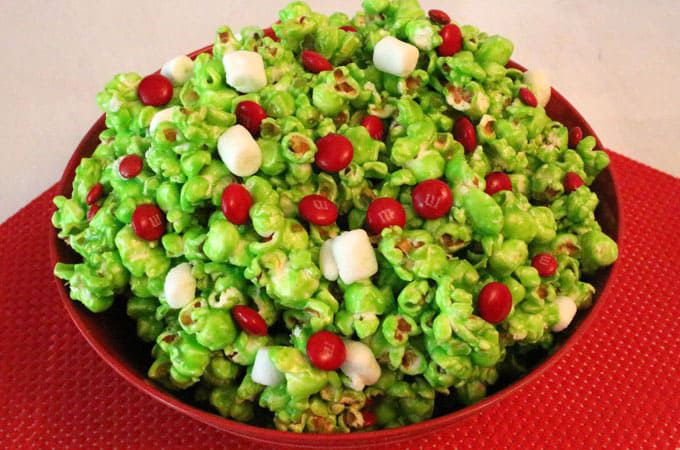 This Grinch Popcorn Is Perfect For Your Next Christmas