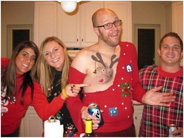 15 Seriously Ugly Christmas Sweater Ideas That Are Guaranteed To Be
