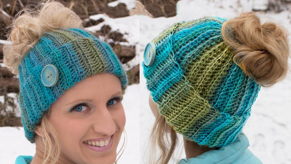 Make Your Own Awesome Ponytail Hat With These Free