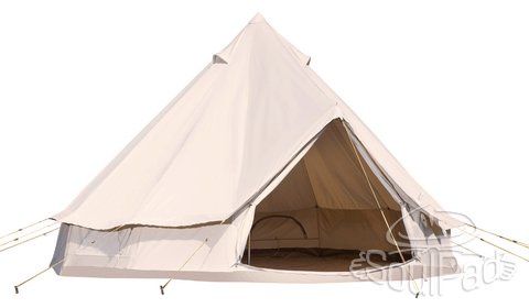 These Awesome 'SoulPad' Hybrid Canvas Tents Are A Camping