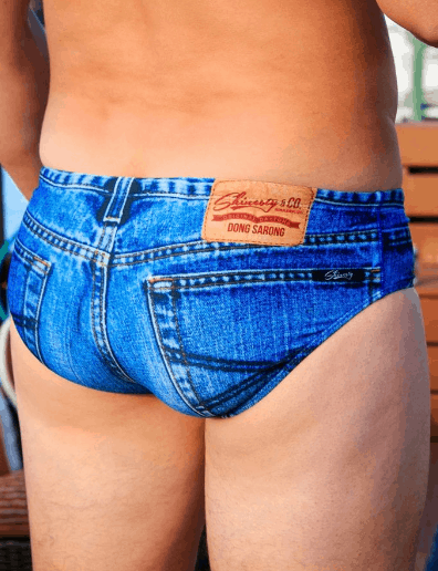 7a2e7cfb34 These 'Daytona Dong' Sarong Jeado Swim Briefs Are All You Need This ...