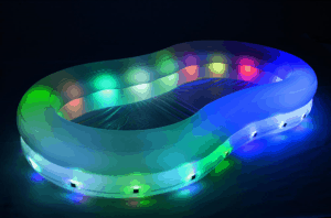 This 40 Color Changing Party Pool From Kmart Is The