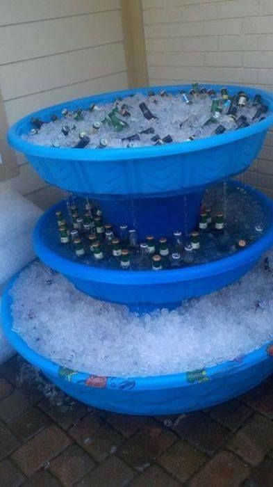This 3-Level \'Kiddie Pool\' Beer Fountain Cooler Is A Must ...