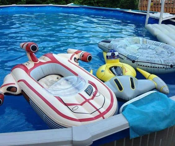 3beb9aecb519 Beat the Tatooine-Like Summer Heat With This Star Wars Inspired Pool ...