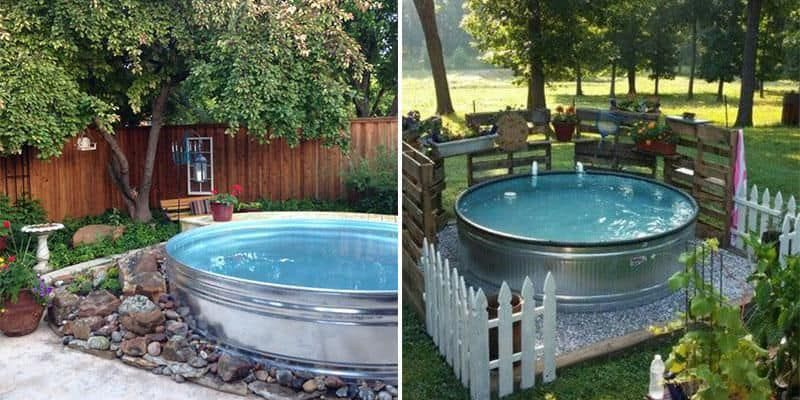Stock Tank Pools Or Hillbilly Hot Tubs Are Becoming The