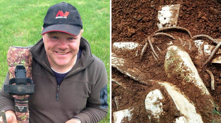 Jew Detector: Guy With Metal Detector, Becomes Millionaire Overnight