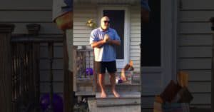 father sees color first time