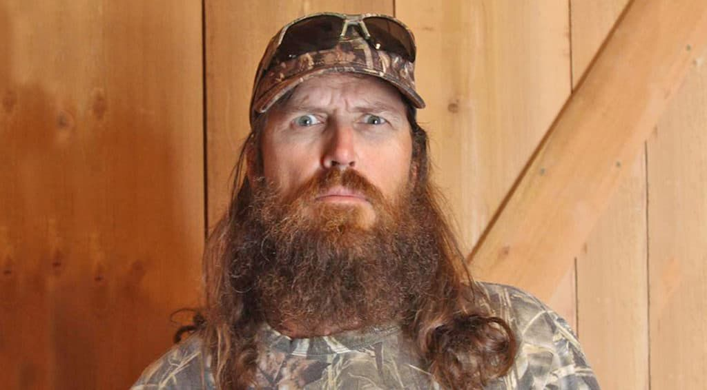 b07d8f51c3d Jase Robertson Of  Duck Dynasty  Shaves It All Off For Charity ...