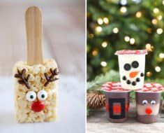 Edible Christmas Crafts For Kids Holiday Parties