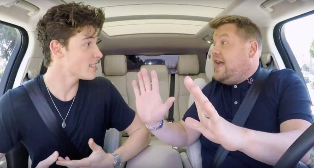 Shawn Mendes Goes Full Harry Potter On Carpool Karaoke With James