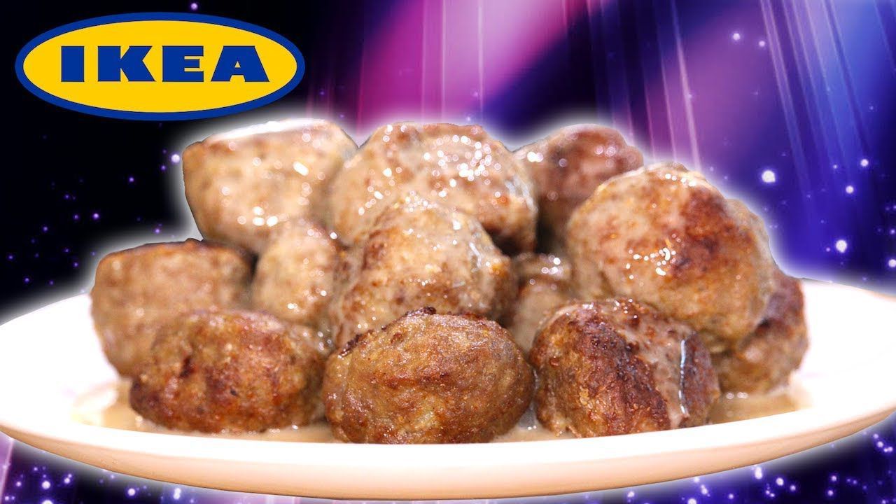 IKEA Just Released The Recipe For Their Legendary 'Swedish Meatballs'